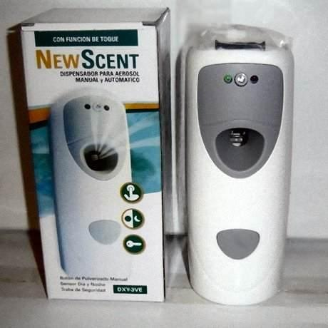 Dispensers para aerosol NEW SCENT